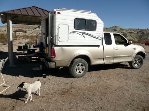 Home Built Truck Campers http://rvsueandcrew.com/2012/10/30/wildlife-in-the-desert/p1000814/