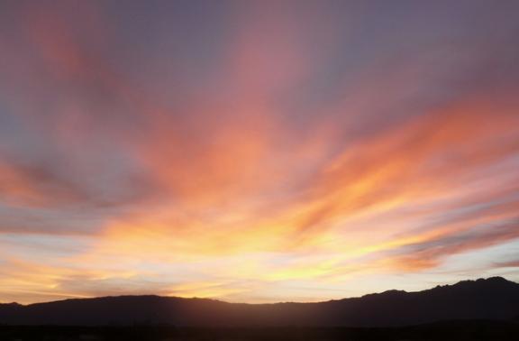 Sunset at Peg Leg