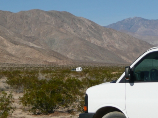 Lee finds a place to nest in the Anza Borrego